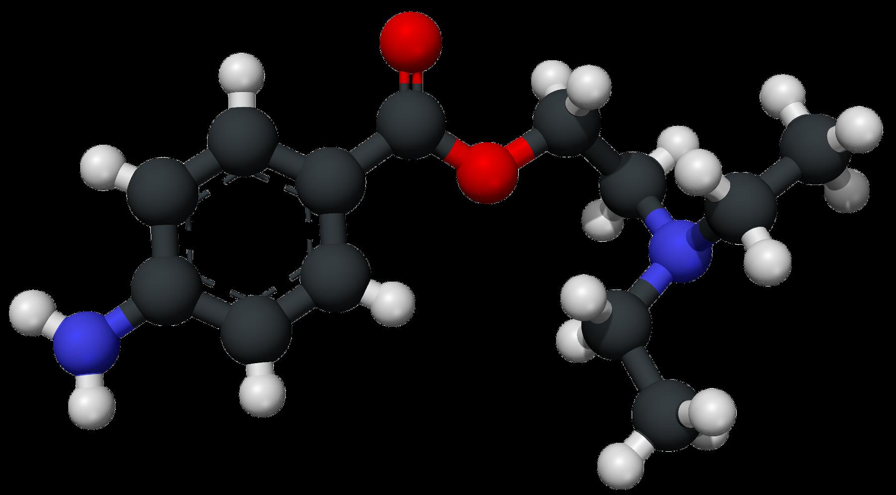 procaie novocain molecular structure