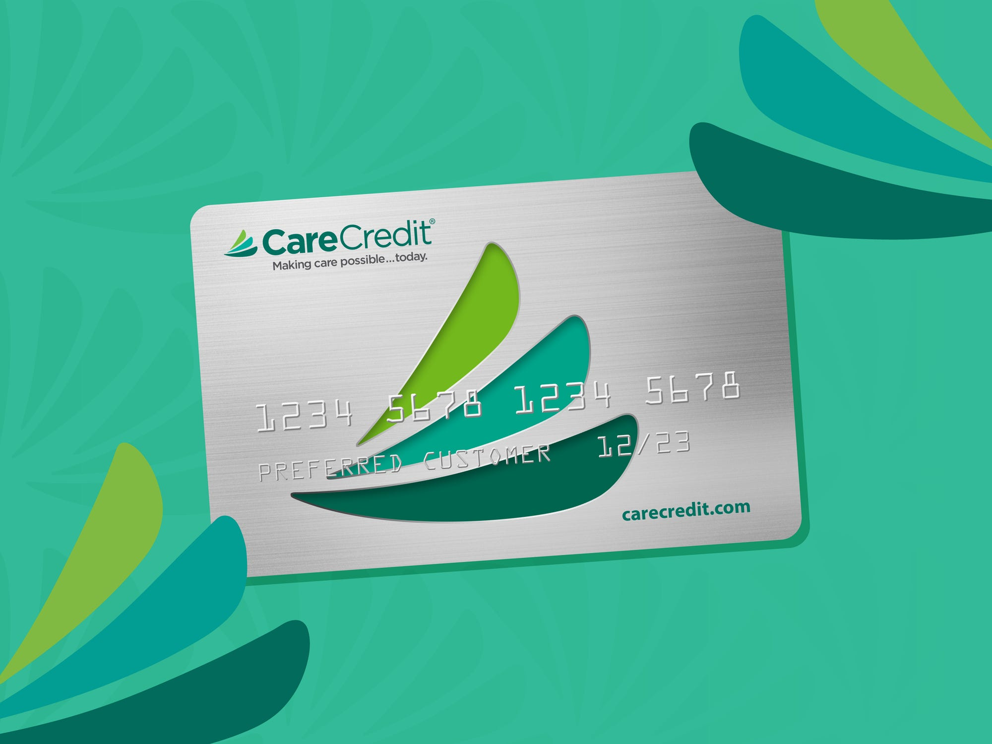 A CareCredit card can be used to cover the cost of dental fillings