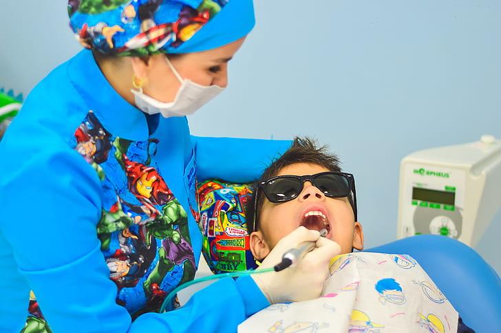 Cavities on a kid's baby teeth can be treated