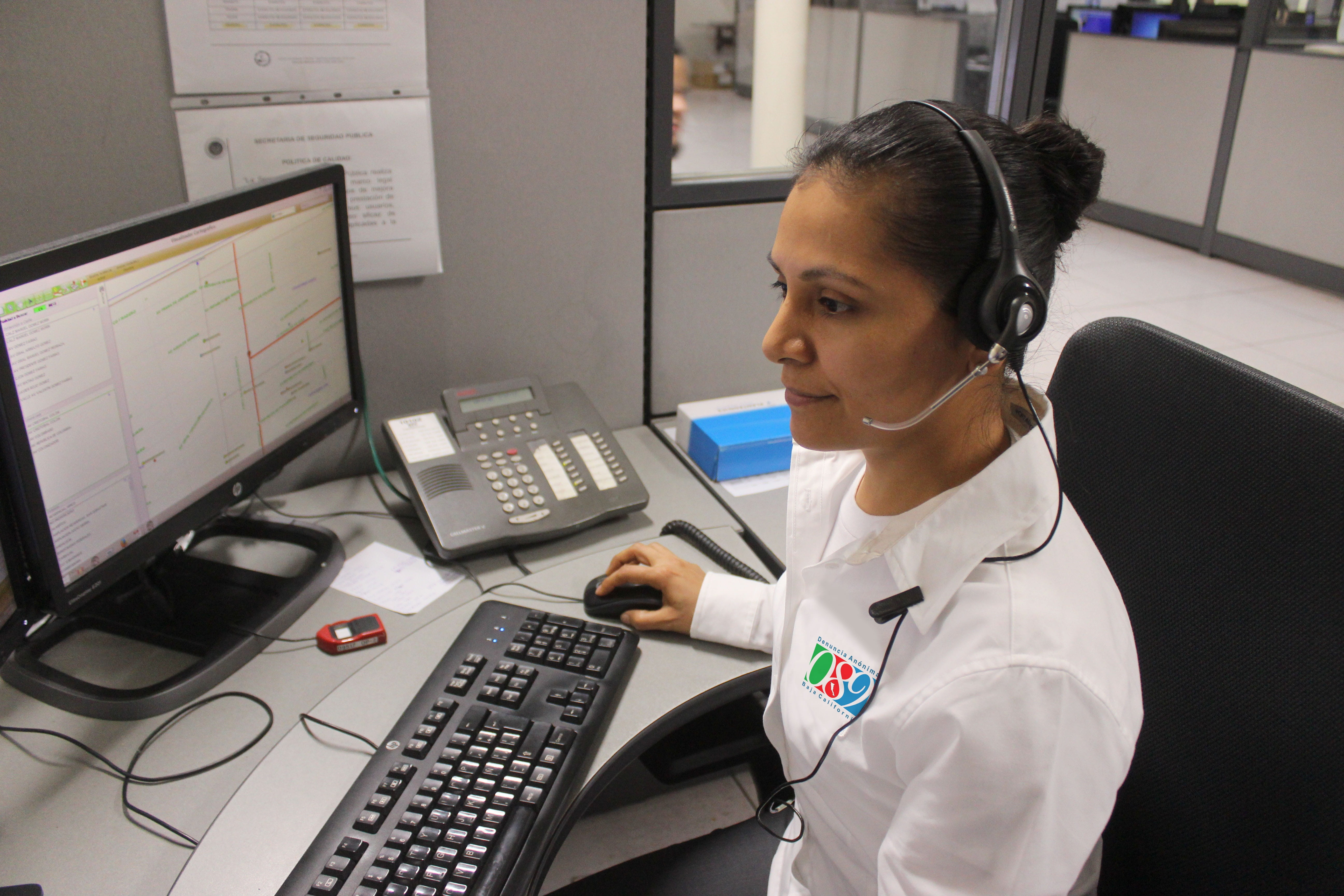 woman taking emergency dental care calls